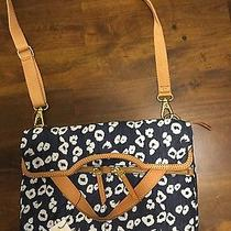 Nwt Fossil Erin Tote Convertible Foldover Crossbody/shoulder  Photo