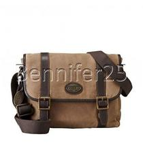 90744a3cc9 Nwt Fossil Estate Brown Men's Messenger Bag 12