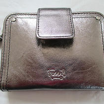 Nwt Fossil Genuine Leather 'Macy