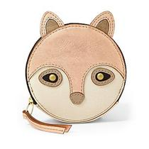 Nwt  Fossil  Gift Fox Zip Coin Rose Gold Wallet  Photo