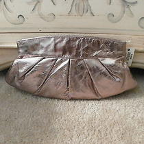 Nwt Fossil Glazed Plated Silver Cluth Photo
