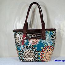 Nwt Fossil Key Per Shopper Floral Tote Shoulder Bag (Bright Multi) Photo