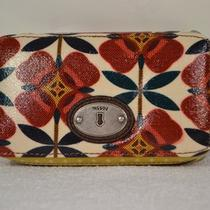 Nwt Fossil Key Per Travel Cosmetic Jewelry Case Box (Floral) Photo