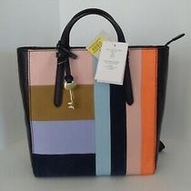 Nwt Fossil Leather Shoulder Bag/handbag/backpack Photo