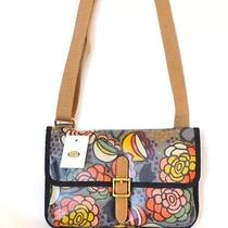 Nwt Fossil Mini Crossbody Bag Vintage Rose Multi Color Gift Teen Gift Photo