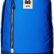 Nwt Fossil Sportsman Blue Canvas Backpack School Laptop Book Bag Mbg9268470 Photo