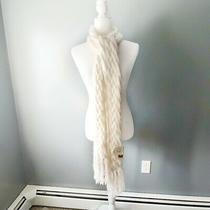 Nwt Fossil Winter Scarf - White Photo