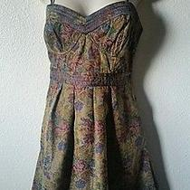 Nwt Free People Anthropologie Seen on Tv Celebrity Tapestry Dress Size 8 148 Photo