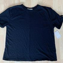 Nwt Free People Black Shirt M Photo