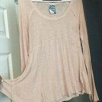 Nwt Free People Intimately Ballet Large Pale Pink Slouchy Hippie Tunic Top Lr Photo