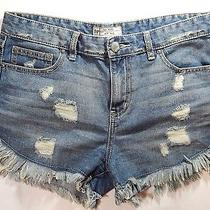 Nwt Free People Jeans Frayed Hem Cuttoff Shorts 29 Dolphin Hem Distressed Photo
