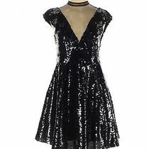 Nwt Free People Women Black Cocktail Dress Xs Photo