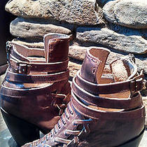 Nwt Freebird by Steven Eagle Distressed Bootie Photo