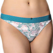 Nwt Freya Secret Garden Thong Panty Aa1377   M Medium  Free Ship Photo