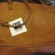 Nwt Frye Brief Case/ Computer Bag Light Brown Leather Photo