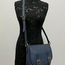 Nwt Frye Women's Lily Leather Crossbody Shoulder Bag Navy Msrp 358 Photo