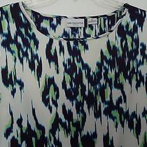 Nwt Fun Women's Career Liz Claiborne Blouse/shirt Size Pl Photo