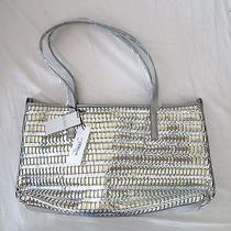 Nwt Funky Botkier Silver Wanderlust Mini Tote Shopper Bag  Photo