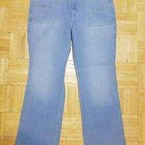 Nwt Gap 1969 Perfect Boot High Rise Light Indigo Wash Jeans Size 33 Photo