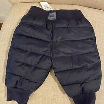 Nwt Gap Baby Snow Pants. 0-3 Months - Navy Blue. Photo