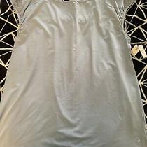 Nwt Gap Body Fit Athletic Wicking Tank Top Baby Blue Large 29.50 Photo