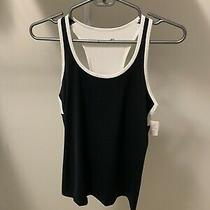 Nwt Gap Fit Black Workout Tank Top Size Small Photo