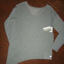 Nwt Gap  Fit Breathe Gray Ls Lightweight Active Top  Size S Photo