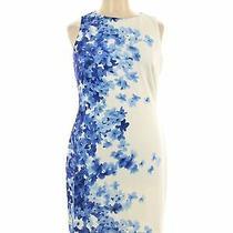 Nwt Gap Fit Women Blue Casual Dress 14 Photo