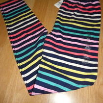 Nwt Gap Girls Leggings Stripe Size Xxl 14 16 Photo