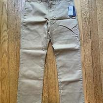 Nwt Gap Kids Boys Chinos Straight Stretch Pant Size 8 Regular Photo