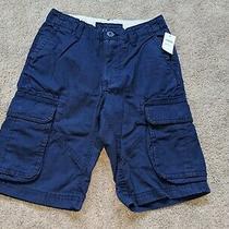 Nwtgap Kidsboys Navy Blue Khaki Cargo Shortssummersize 10 Regularregnew Photo