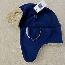 Nwt Gap Kids Pro Fleece Trapper Hat in Elysian Blue Size L/xl - 24.95 Photo