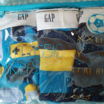 Nwt Gap Kids Xs 4-5 4t 5t 3 Pack Classic Briefs Gaming Nintendo Underwear Photo