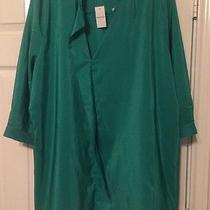 Nwt - Gap Maternity Size Xl Extra Large Women's Kelly Green Top Photo