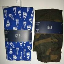 Nwt Gap Men's Medium Sailboat Camo 4