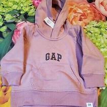 Nwt Gap Sweatshirt Hoodie Girls 6-12 Months Pink New Photo