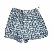 Nwt Gap Women Blue Shorts Xxl Photo