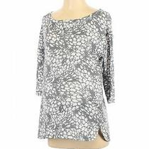 Nwt Gap Women Gray 3/4 Sleeve Top S Maternity Photo