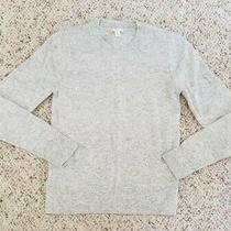 Nwt Gap Women's Light Gray Crewneck Lambswool Sweater Sz Xs Photo