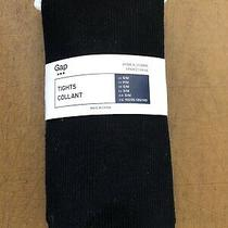 Nwt Gap Women's S/m Tights Collant Black Photo