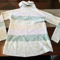 Nwt Gap Womens Size Xs Striped Tunic Cowl Neck Sweater Photo