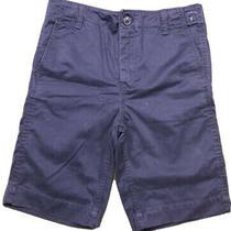Nwt Gapkids Boy's Flat Front Shorts Size 10 - Navy - Adjustable Waist Photo