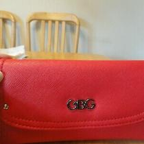 Nwt Gbg Guess Women Wallet Tri Fold Red Photo