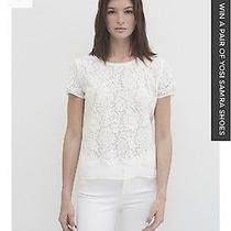 Nwt Generation Love Leo Scallops Top Blouse Last Size M Photo