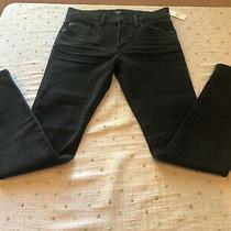 Nwt- Girl Kids Gap Denim Regular Stretch Skinny Jeans Black Wash Size 12 Photo