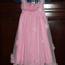 Nwt Girls Blush Brand Tulle Baby Doll Style Flower Dress Size 5 Photo