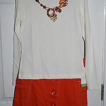 Nwt Girls Boutique Kc Parker Long Sleeve & Button Down Skirt Size 10 Nice Photo
