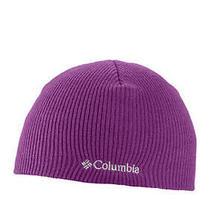 Nwt Girls Columbia Winter Beanie Whirlibird Hat  15 Tag  Magenta Purple Youth Photo