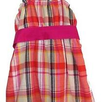 Nwt Girls Guess Strappy Plaid Top Size 14 Photo