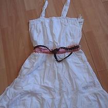 Nwt Girls Guess Sz 4 White Dress Photo